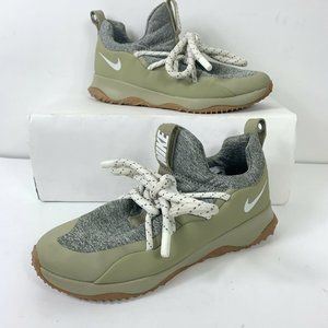 Nike City Loop Gray Olive Shoes Wm Sz 10